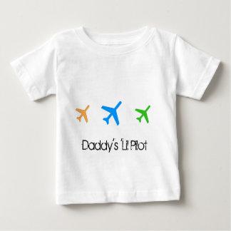 お父さんの「Lilのパイロット ベビーTシャツ