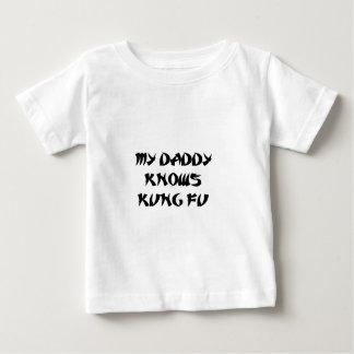 お父さんのkungのfu ベビーTシャツ