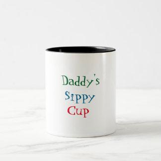 お父さんのSippyのコップ ツートーンマグカップ