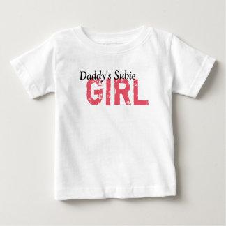 お父さんのSubieの女の子 ベビーTシャツ