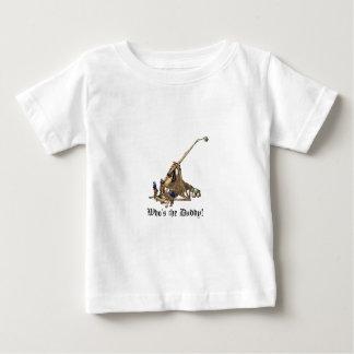 -お父さんはだれであるか本拠地-ベビー ベビーTシャツ
