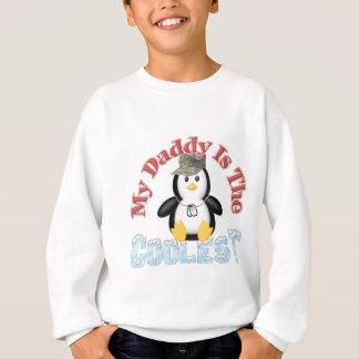 お父さんは最もクールなペンギンです スウェットシャツ