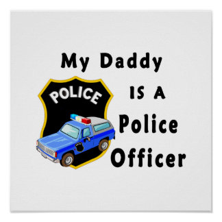 お父さんは警官です ポスター