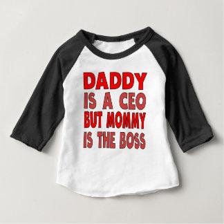 お父さんはCEOのお母さんですボスです ベビーTシャツ