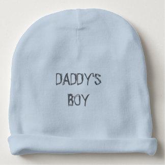 """""""お父さん男の子""""の男の赤ちゃんの綿の帽子 ベビービーニー"""