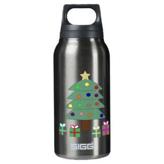 お祝いのクリスマスツリー 断熱ウォーターボトル