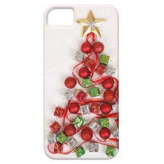お祝いのクリスマスツリー iPhone SE/5/5s ケース