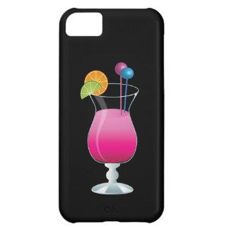 お祝いのピンクのカクテル iPhone5Cケース