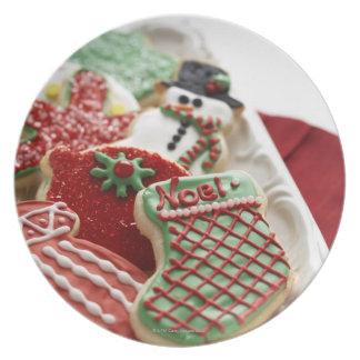 お祝いの休日のクッキーの類別 プレート
