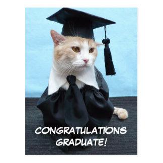 お祝いの卒業生! ポストカード