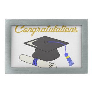 お祝いの卒業生 長方形ベルトバックル