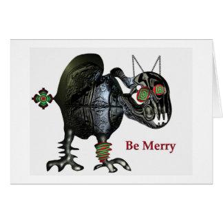 お祝いの季節の不況 カード