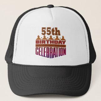 お祝いの第55誕生日プレゼント キャップ
