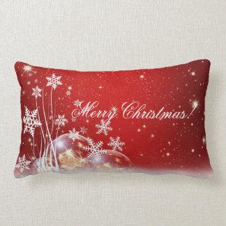 お祝いの赤く及び白い休日のLumbarの枕 ランバークッション