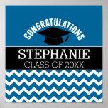 お祝いは-暗藍色の卒業を卒業させます ポスター
