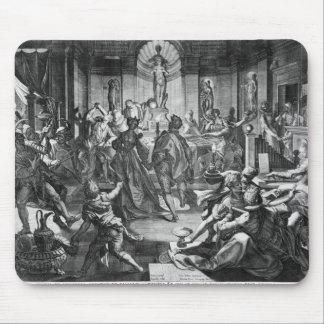 お祝い場面1588年 マウスパッド