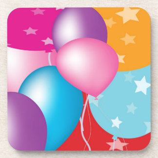お祝いCeleberation Baloons コースター