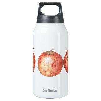 お祭りのりんごの自由のびん 断熱ウォーターボトル