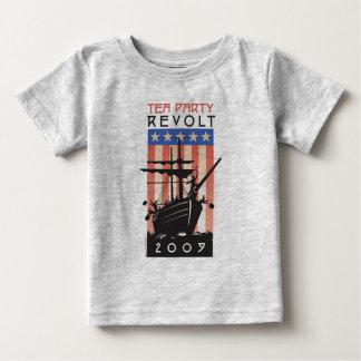 お茶会のベビーT ベビーTシャツ