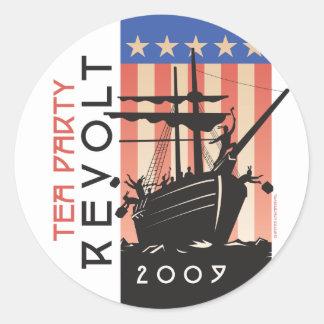 お茶会の反乱2009年 ラウンドシール