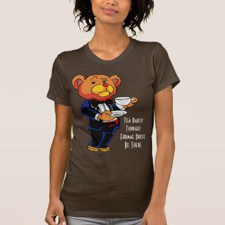 お茶会の招待-ワイシャツ Tシャツ