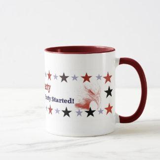 お茶会の政治ギア マグカップ