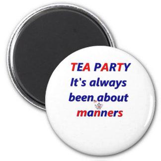 お茶会の方法 マグネット