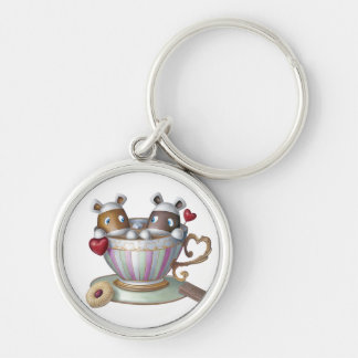 お茶及び切れのBake® -私のお茶 キーホルダー