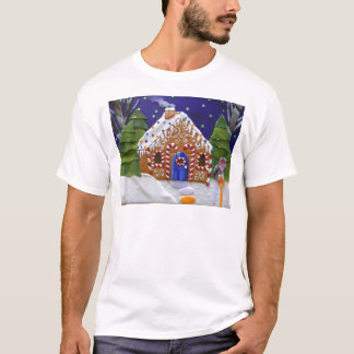 お菓子の家 Tシャツ