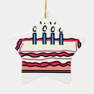 お誕生日ケーキ セラミックオーナメント