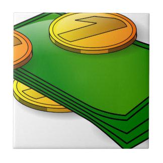 お金および硬貨 タイル