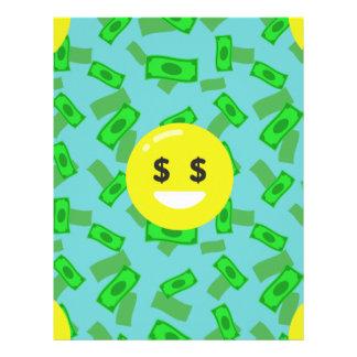 お金によって注目されるemoji レターヘッド