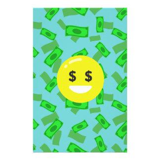 お金によって注目されるemoji 便箋