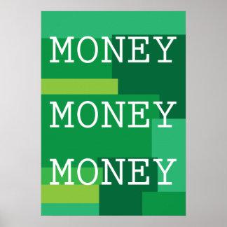 お金のお金のお金ポスター ポスター