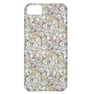 お金のコラージュの電話箱 iPhone5Cケース