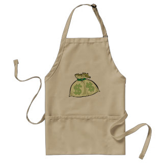 お金のバッグのデザイン スタンダードエプロン