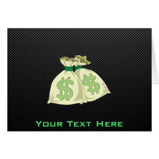 お金のバッグ; お洒落 カード