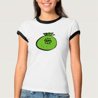 お金のバッグ Tシャツ