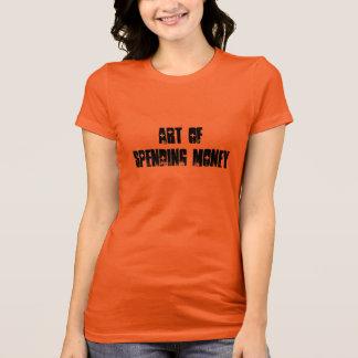 お金の出費の芸術 Tシャツ