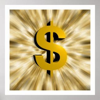 お金の印 ポスター