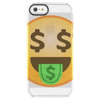 お金の口Emoji クリア iPhone SE/5/5sケース