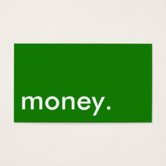 お金の名刺 名刺