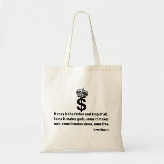 お金の哲学 トートバッグ