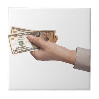 お金の把握 タイル