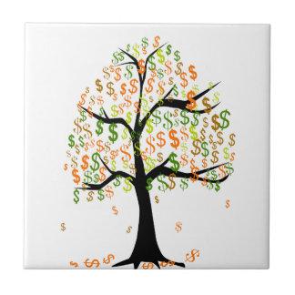 お金の木 タイル