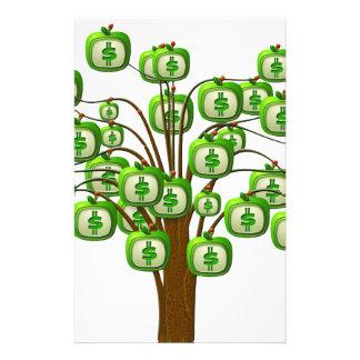 お金の木 便箋