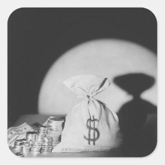お金の袋 スクエアシール