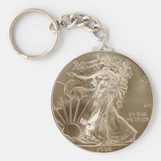 お金のKeychainの硬貨 キーホルダー