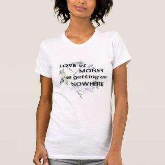 お金のTシャツの愛 Tシャツ
