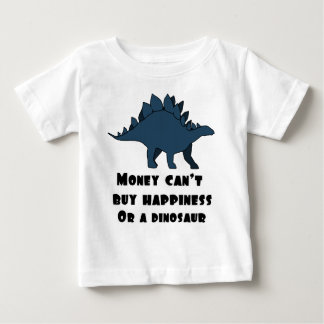 お金は幸福を買うことができません ベビーTシャツ